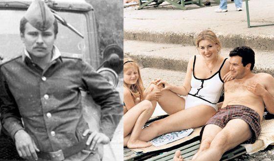 Слева: Артем Трегубов, справа: Алексей Касаткин с Марией и Аней