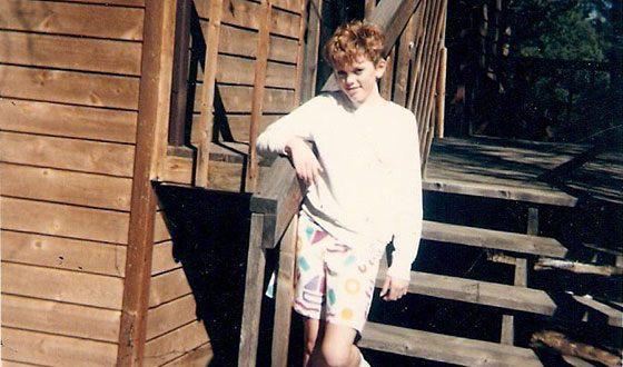 Young Rose McGowan