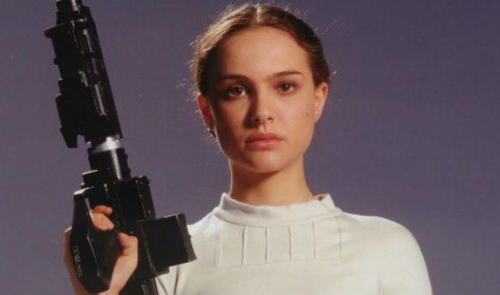 Натали Портман В Звездных Войнах