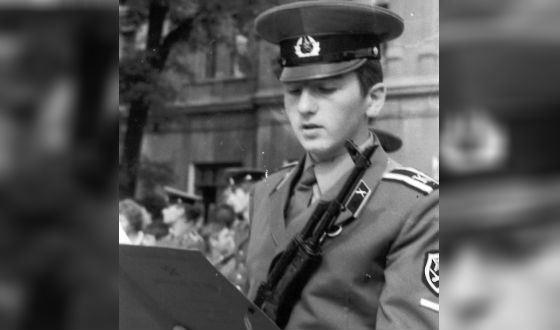Кантемир Карамзин – курсант Днепропетровского высшего военного училища