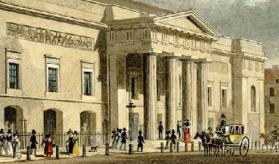 The second building of Covent Garden (1827 )