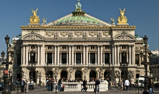 The Paris opera of Charles Garnier