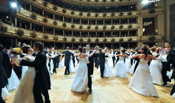 The Vienna Opera Ball is an event with a strict dress-code
