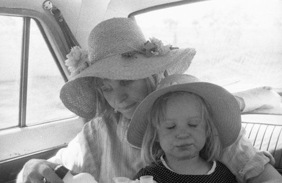 Sia and her mother