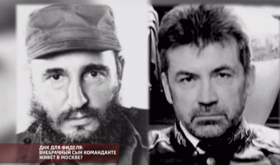 Alexander Seregin confirmed that he is the illegitimate son of Fidel Castro
