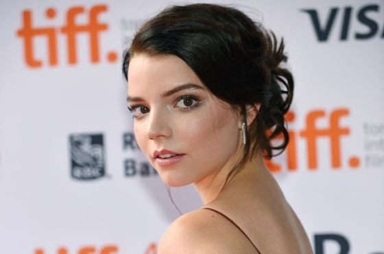 A model and actress Anya Taylor-Joy