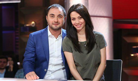 Демис Карибидис с женой Пелагеей
