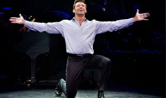 "Hugh Jackman is the star of Broadway (""The Boy From Oz"")"