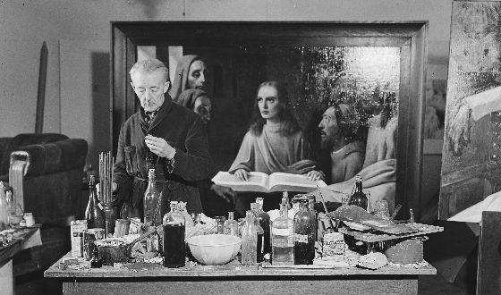 Han van Megheren forged Jan Vermeer style
