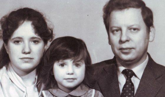 Children's photo of Irina Slutskaya (with parents)