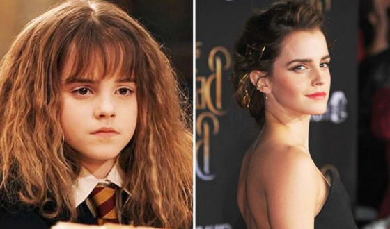 Hermione has grown up