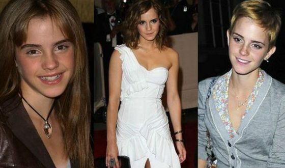 How Emma Watson was changing