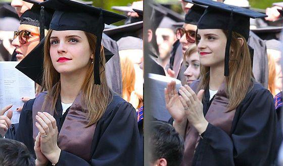 Эмма Уотсон – выпускница университета Браун