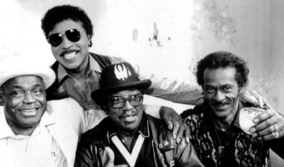 Chuck Berry and the Blues Icons: Bo Diddley, Little Richard and Willie Dickson