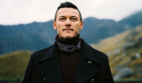 The theater and cinema actor Luke Evans