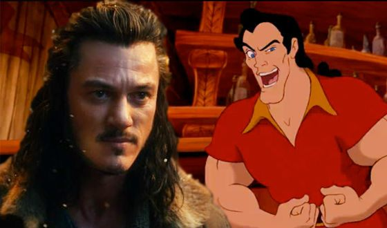 Luke Evans played the anti-hero Gaston