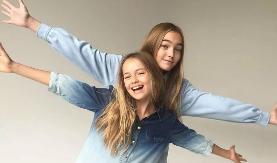 In the photo: Anastasia Bezrukova and Kristina Pimenova