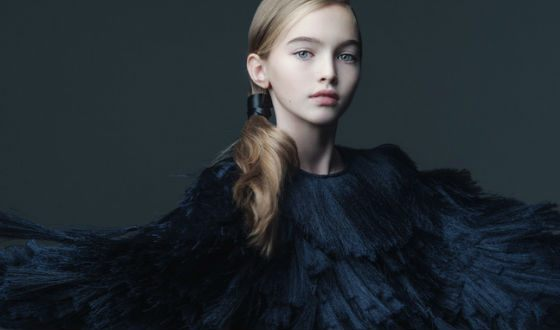Anastasia has become one of the most famous models of children