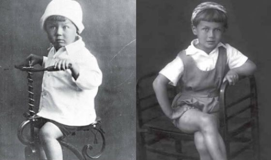 Baby photo Yevgeny Yevtushenko