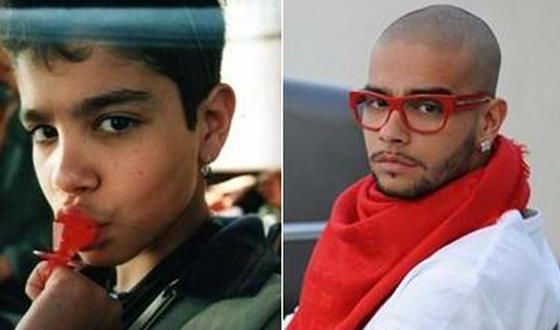 Timati in childhood and now