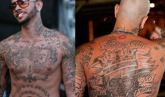 Because of tattoos Timati did not take the army