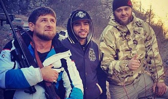 Timati is friends with Ramzan Kadyrov