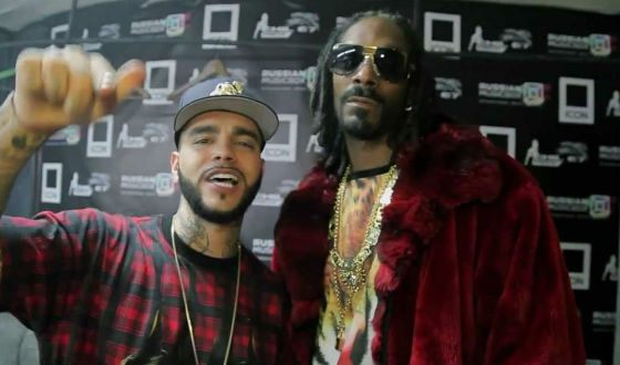 "Timati and Snoop Dogg together starred in the film ""Classmates"""