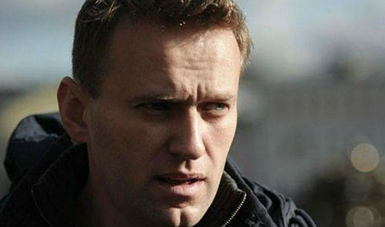 The Russian anti-corruption protest leader Alexei Navalny