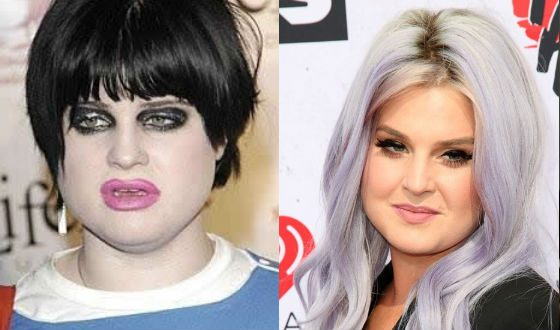 Kelly Osbourne turns from a toad into a cutie
