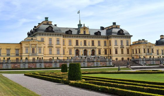 Palace in Stockholm - the residence of the current King of Sweden