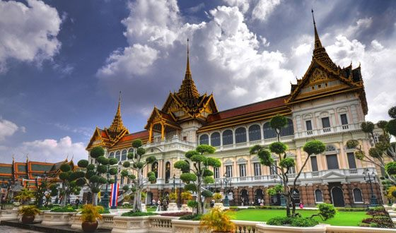 Grand Palace in Bangkok over two hundred years