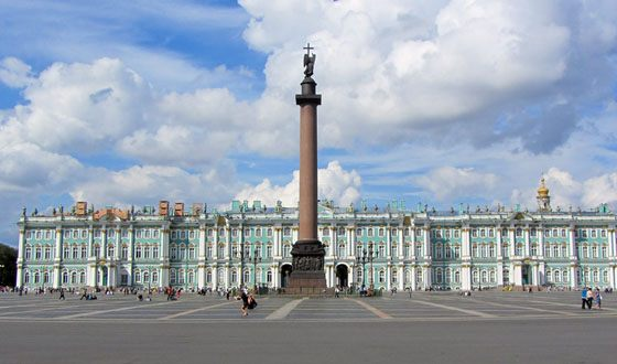 Every year hundreds of thousands of tourists come to St. Petersburg