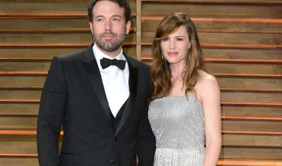Ben Affleck and Jennifer Garner were happy