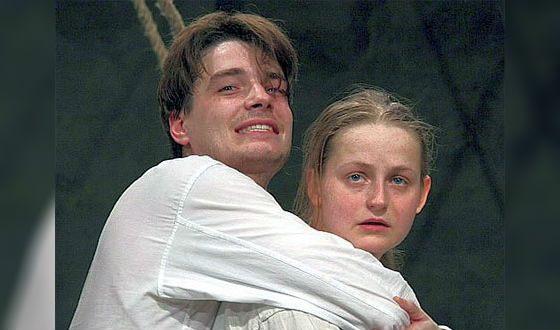 Максим Матвеев с первой женой, актрисой Яной Сексте