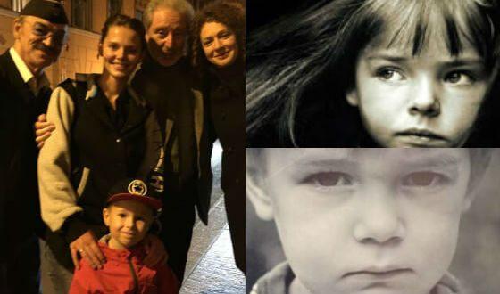 Сын Матвеева и Боярской и его родители в детстве