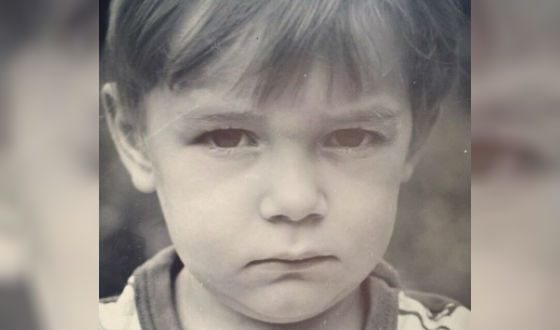 Детское фото Максим Матвеева. На снимке ему 5 лет