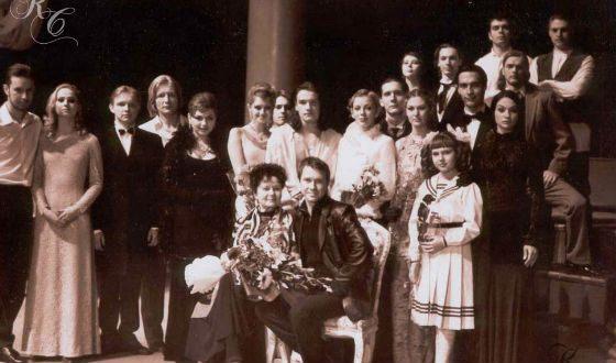 Максим Матвеев и его однокурсники в Саратовской консерватории