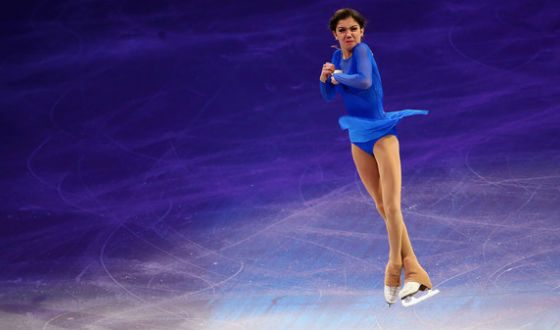 Evgenia Medvedeva got «gold» at the World Cup in Boston