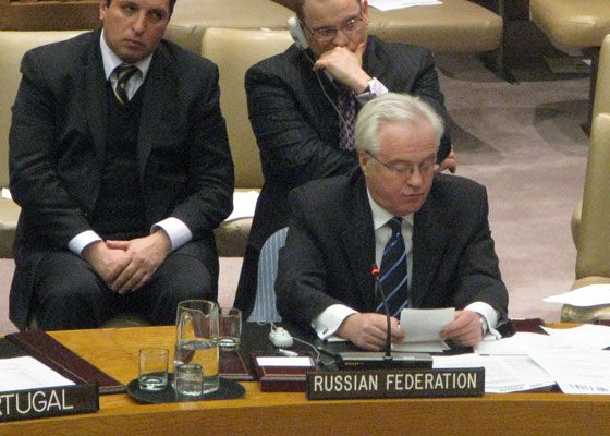 In 2015, Vladimir Safronkov began working in the United Nations Organization