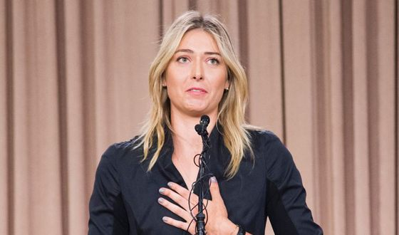 Sharapova cannot meet her one and only