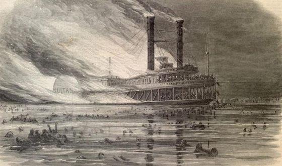 Крушение парохода «Султан» признано крупнейшей катастрофой XIX века