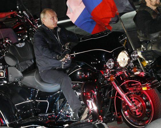 Путин на Harley-Davidson