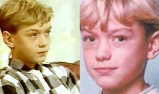 Jude Law's photos as a child