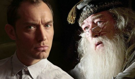 Jude Law will play the young Dumbledore