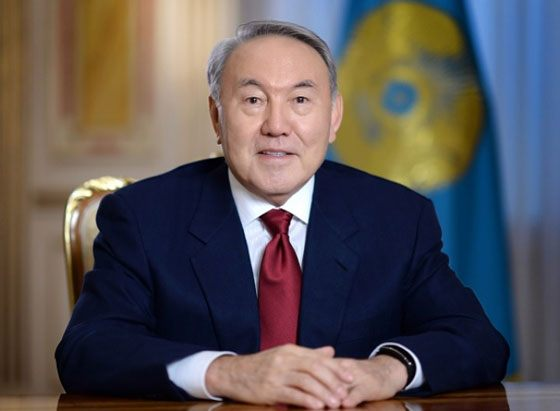President of Kazakhstan Nursultan Nazarbayev