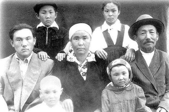 Nursultan Nazarbayev and his family