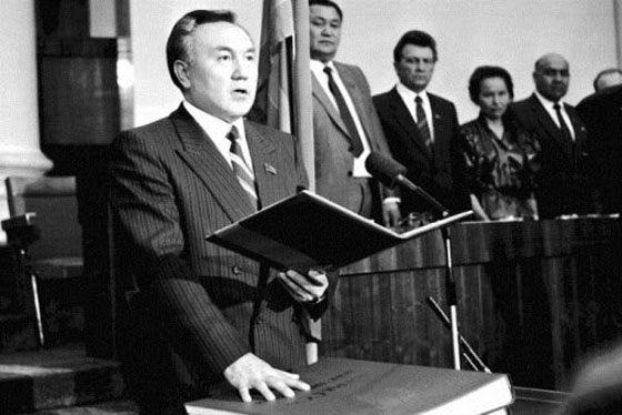 Nursultan Nazarbayev began his career as secretary