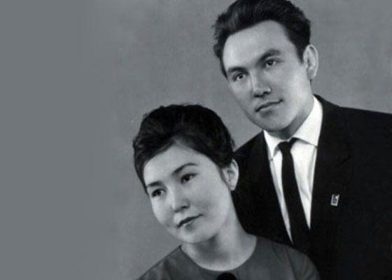 Nursultan Nazarbayev and his wife Sarah