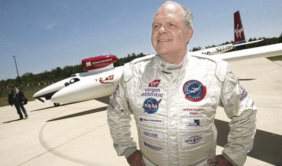 Steve Fossett was able to fly around the planet in a balloon