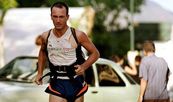 Robert Garside has covered 56 thousand kilometers